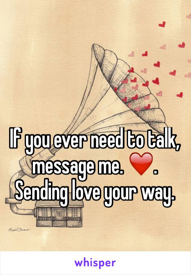 love talk message