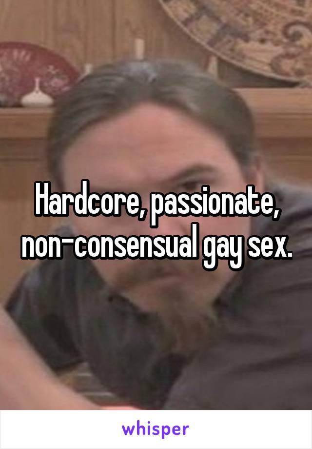 Non consensual gay stories