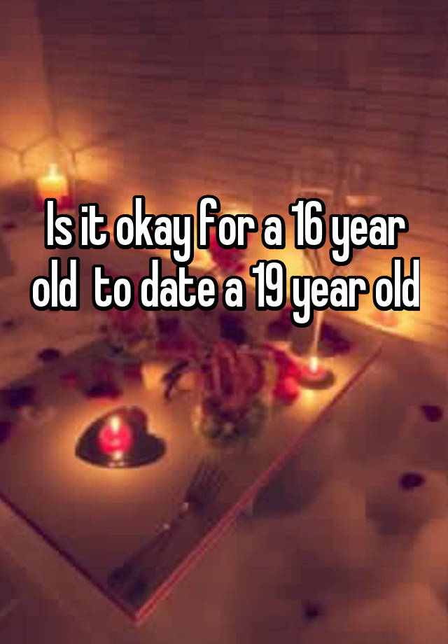 23 16 year a old to for a date legal is it old year What Is