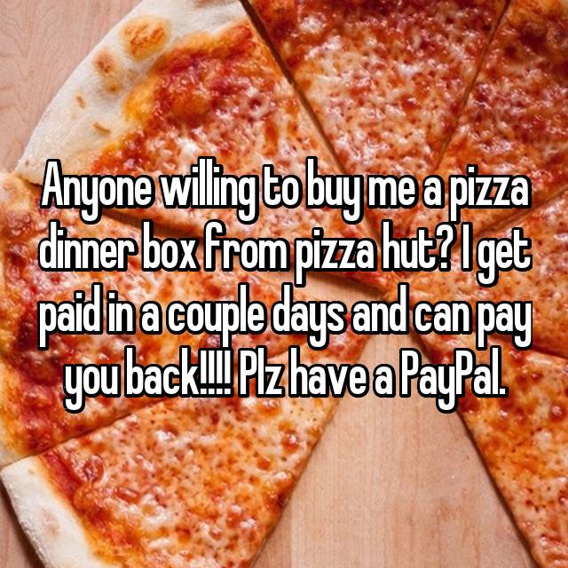 can you pay for pizza hut with paypal