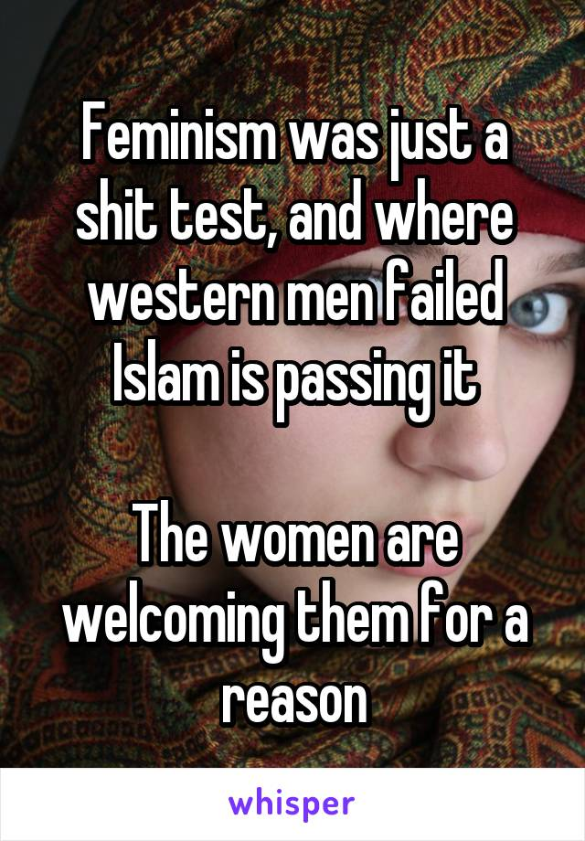Women shit test