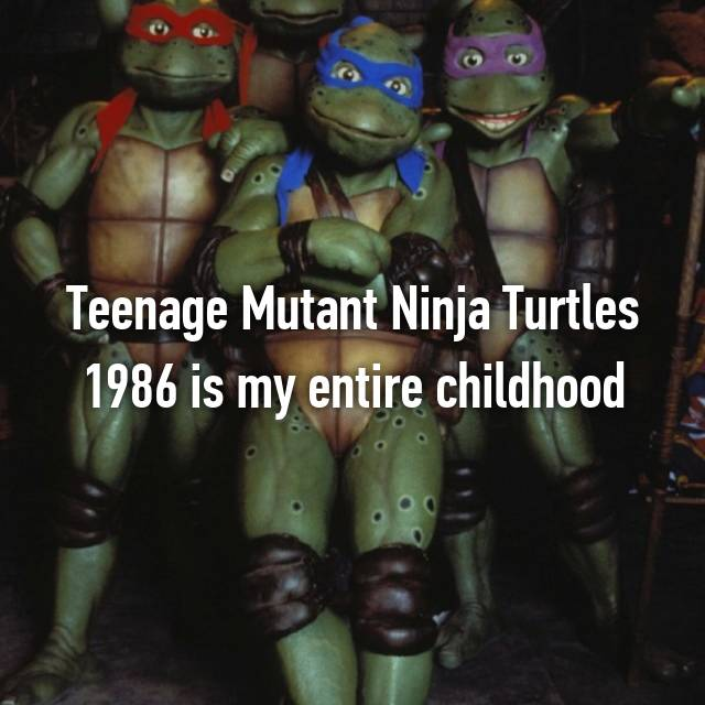 Teenage Mutant Ninja Turtles 1986 is my entire childhood