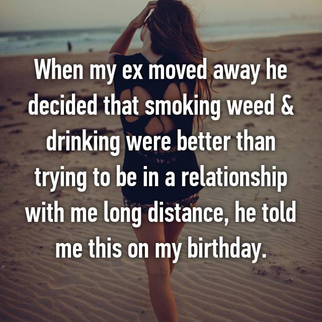 my ex moved on immediately