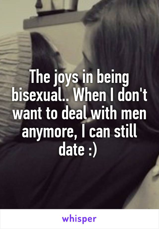 How to deal with being bisexual