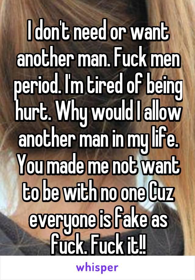 Fuck men