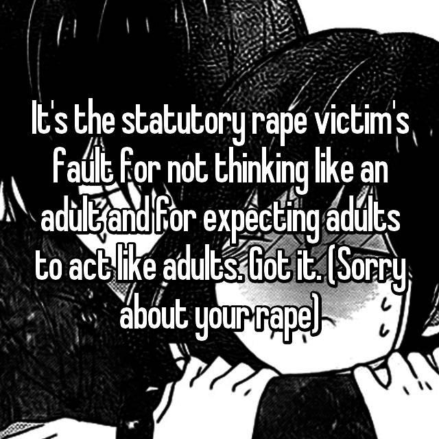 Adults Victim thinking