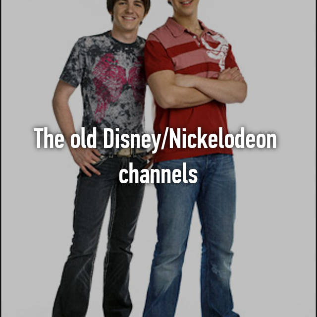 The old Disney/Nickelodeon  channels