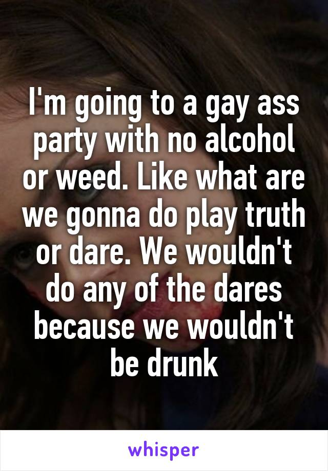 Gay Ass Party