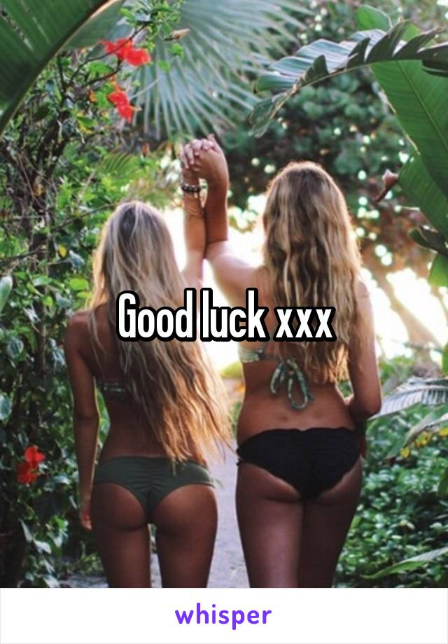 Join. xxx good luck grils pic