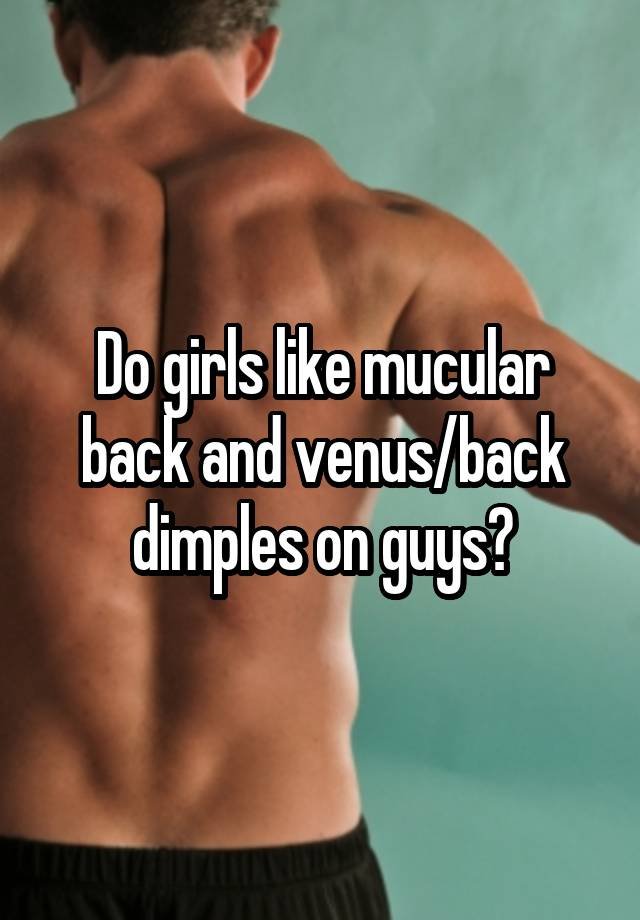 Like why dimples girls do Why are
