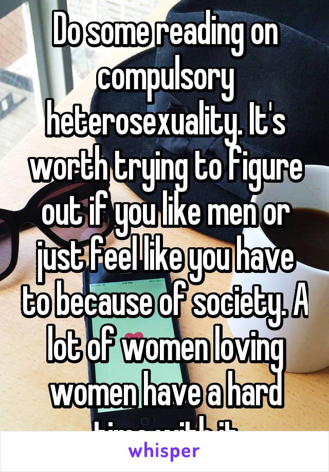 Compulsory hererosexuality