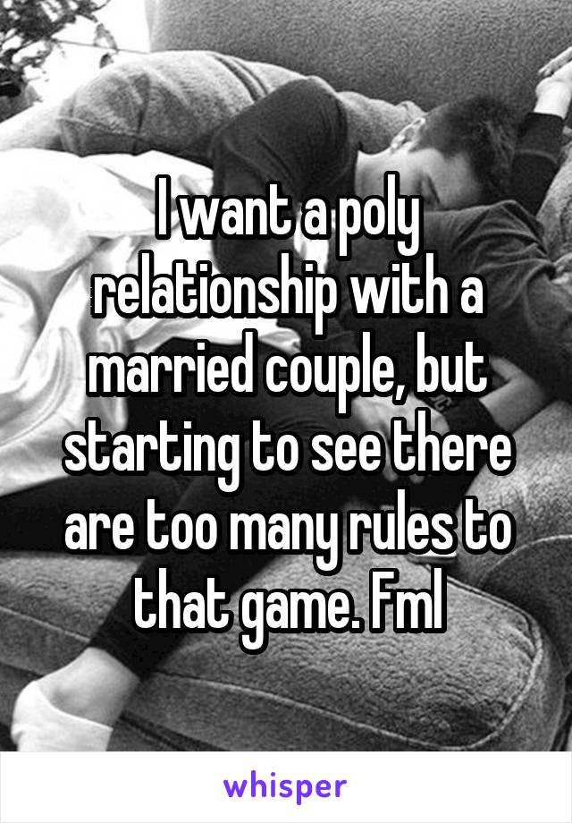 Rules for starting a relationship