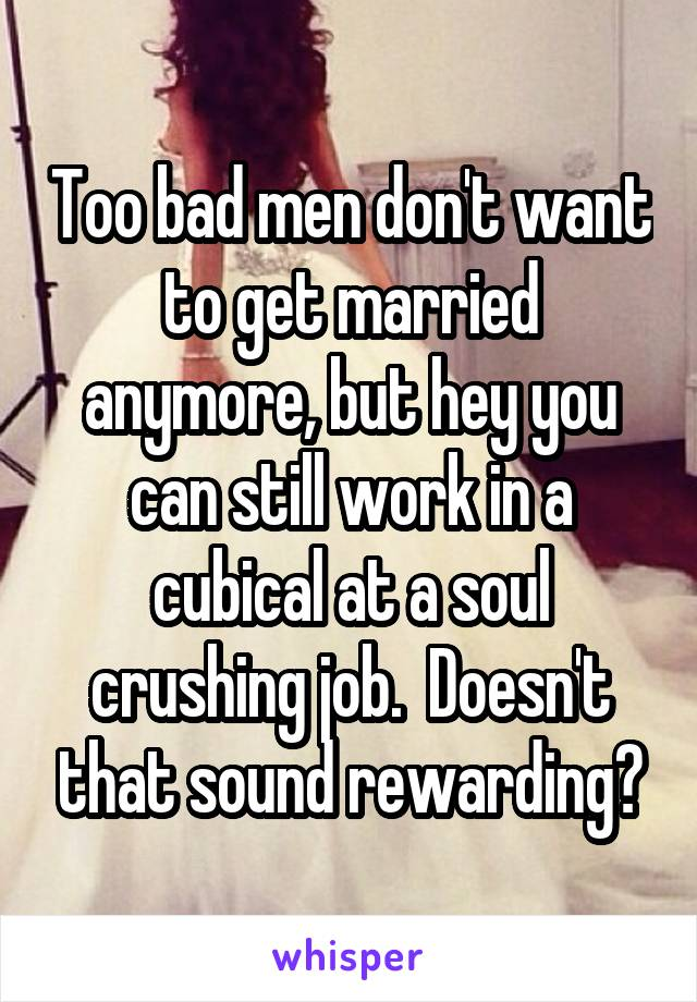 i don t want to be married anymore