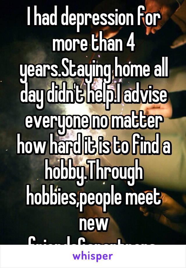 Hobbies to meet people