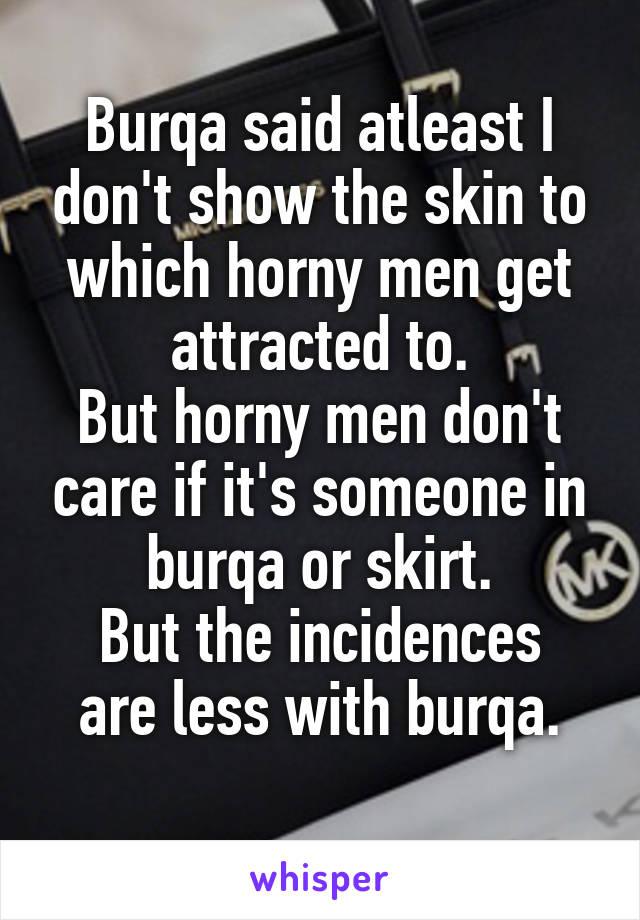 when do men get horny