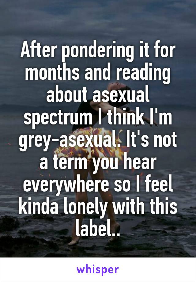 Asexual spectrum labels