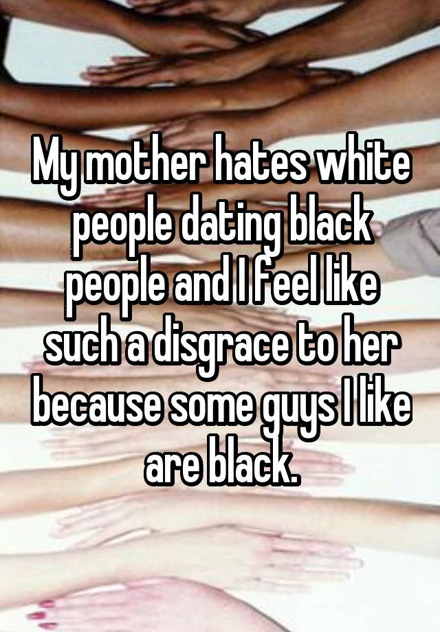 My Moms, dating, a, black