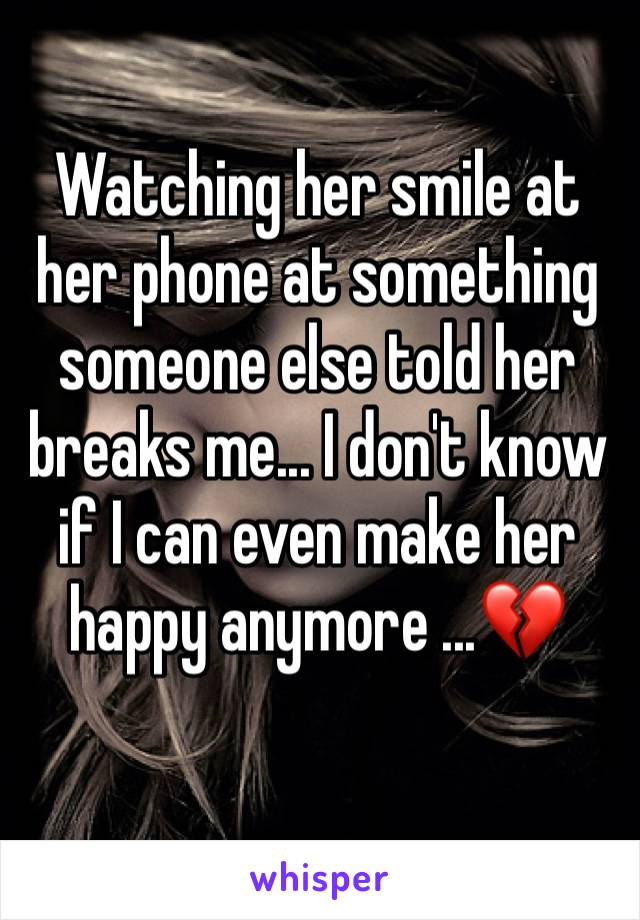 something for her to smile