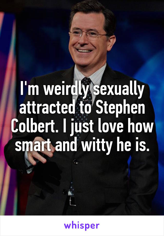 Sexually attracted to smart
