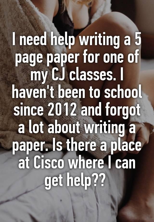 I Need A Term Paper Written