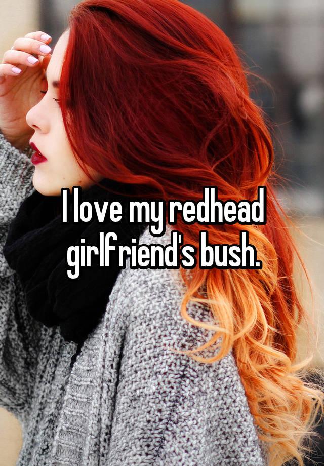 my girlfriends bush