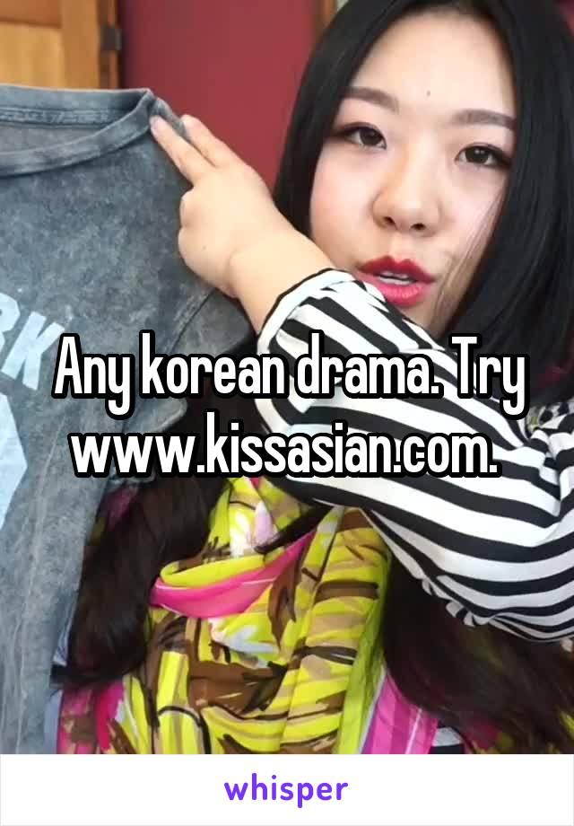kissasian korean drama