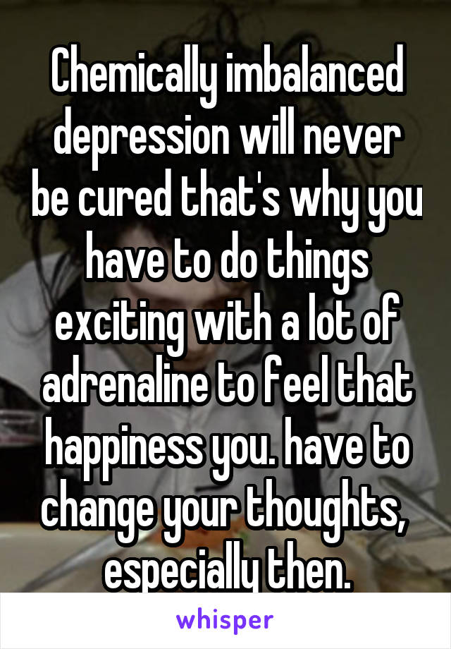 What is happiness chemically