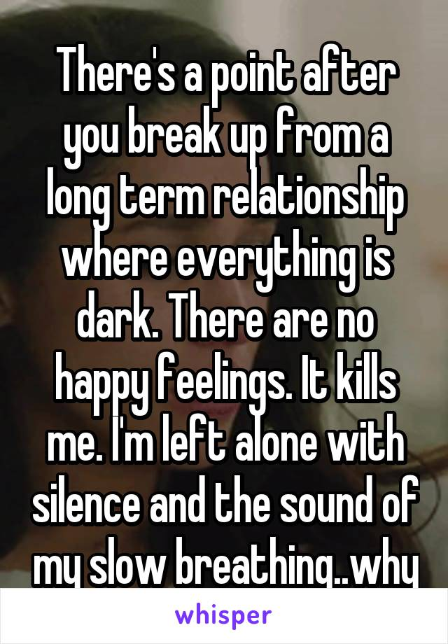 How to break off long term relationship