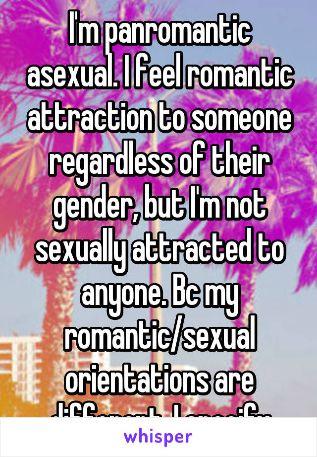 Not sexually attracted to someone