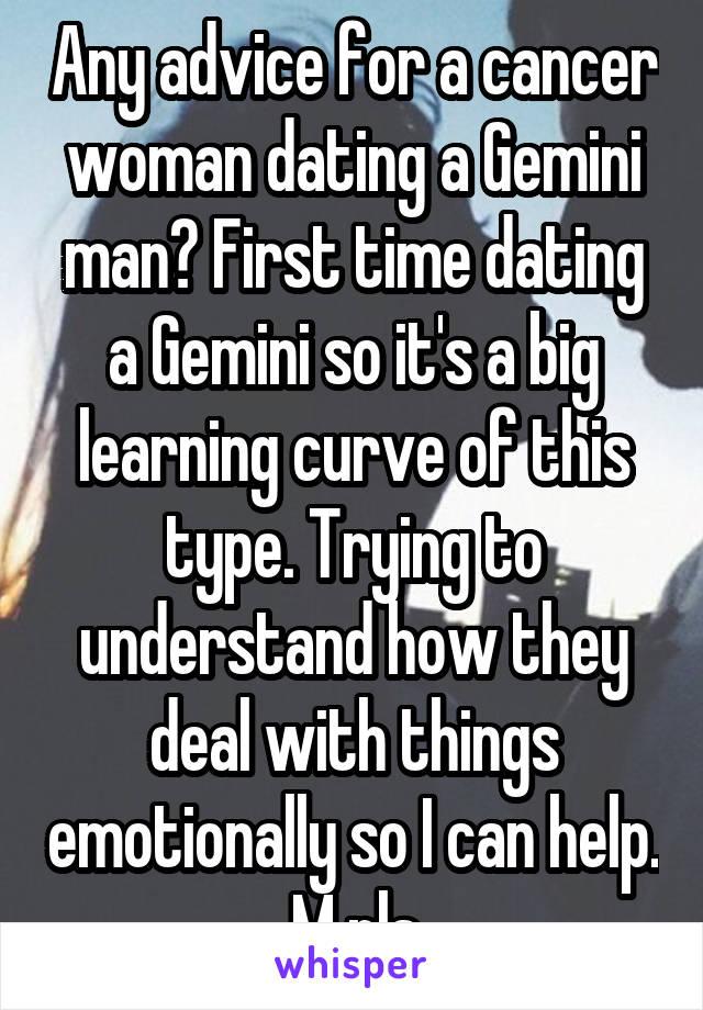 when dating a gemini man