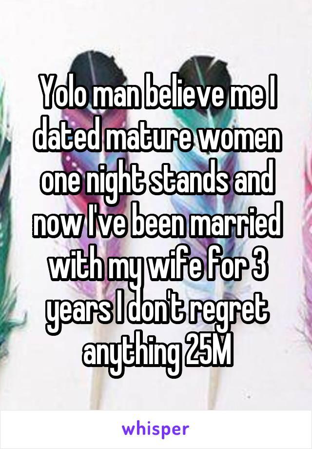 mature one night stand