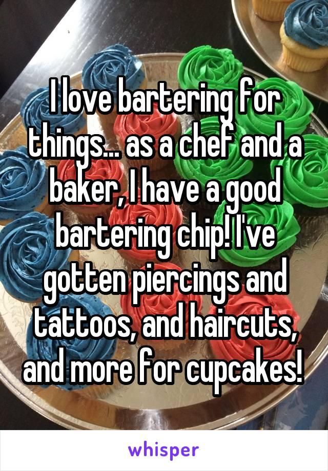 Bartering chip