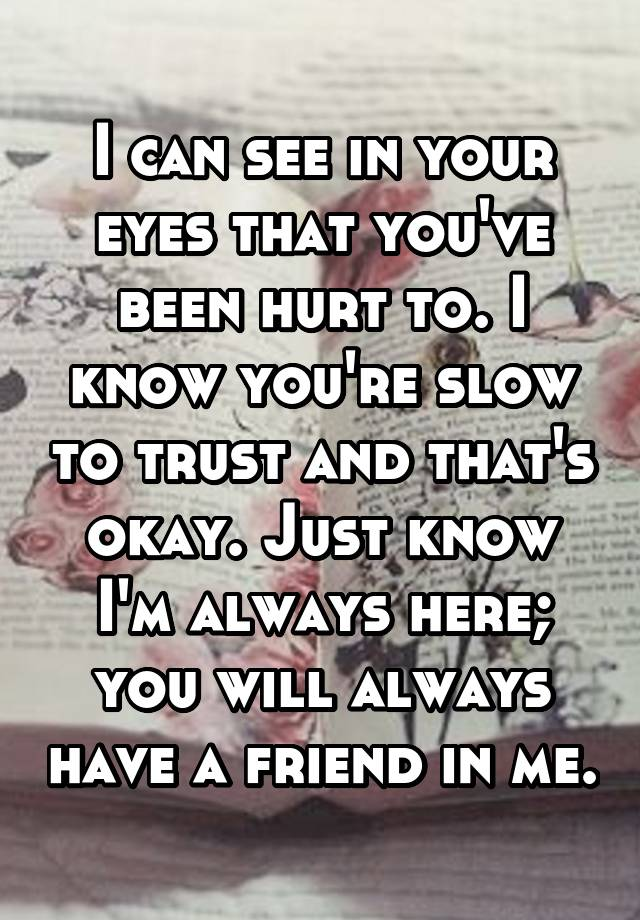 You ll always have a friend in me