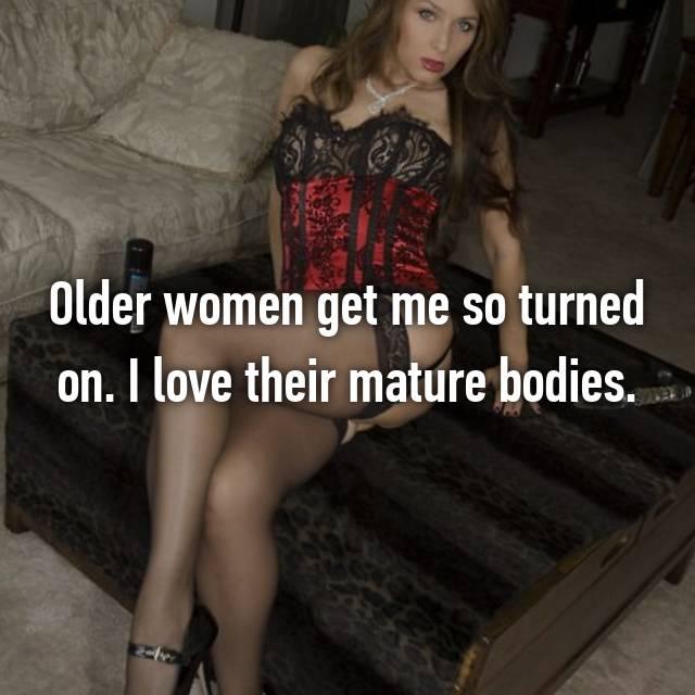 guys like mature women pics