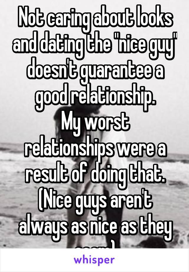 Dating for nice guys