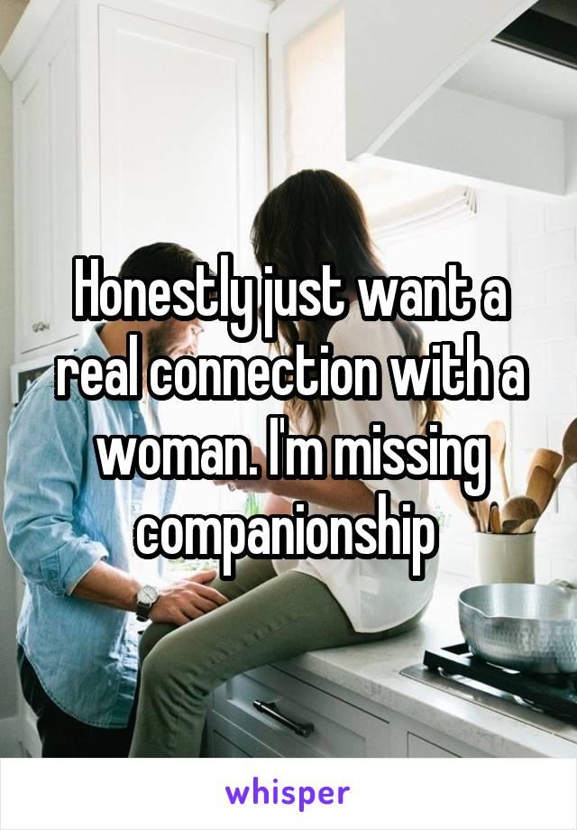 Missing companionship
