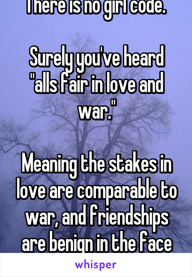 alls fair in love and war meaning