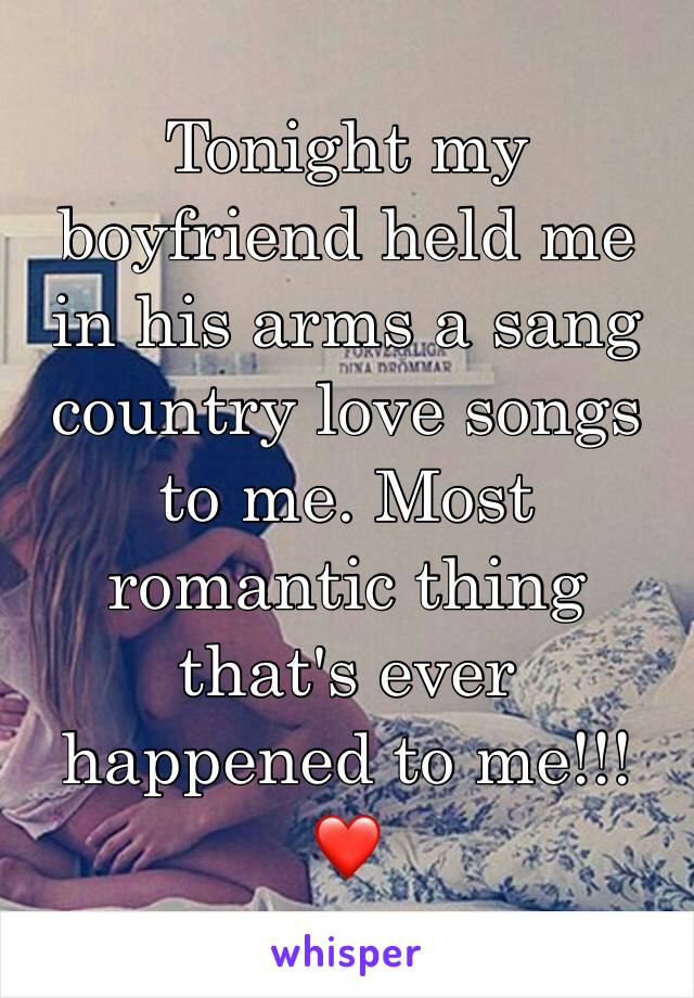 most romantic country songs