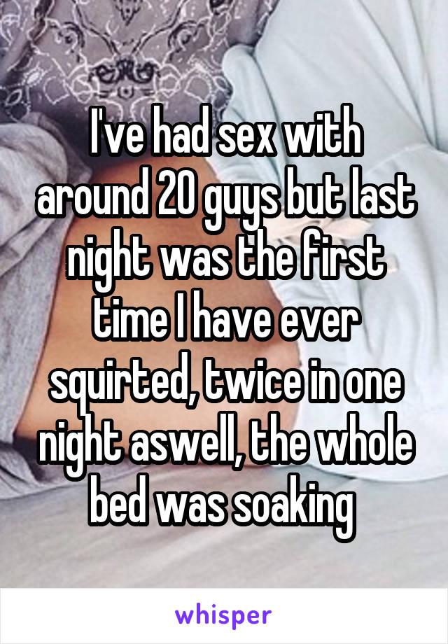 sex twice in one night