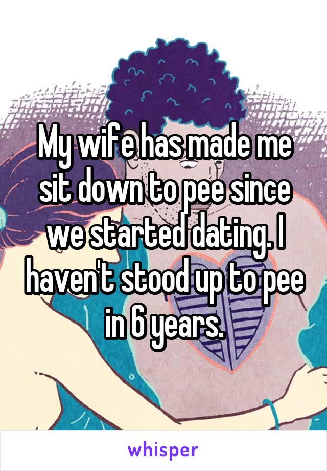 Pee in my wife