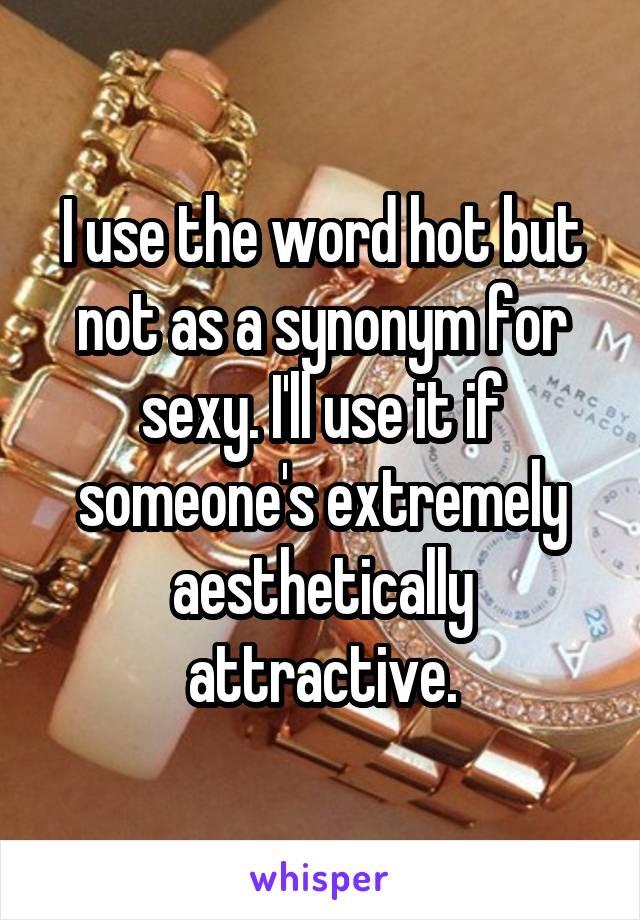 Sexy synonym