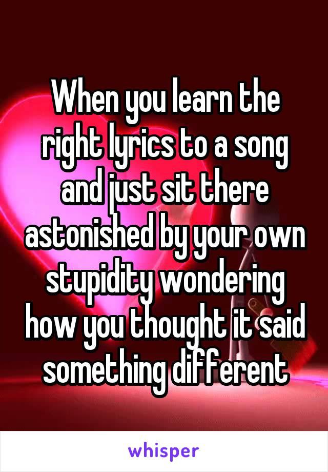 You said something lyrics