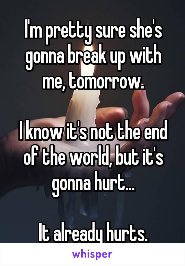 Its gonna hurts