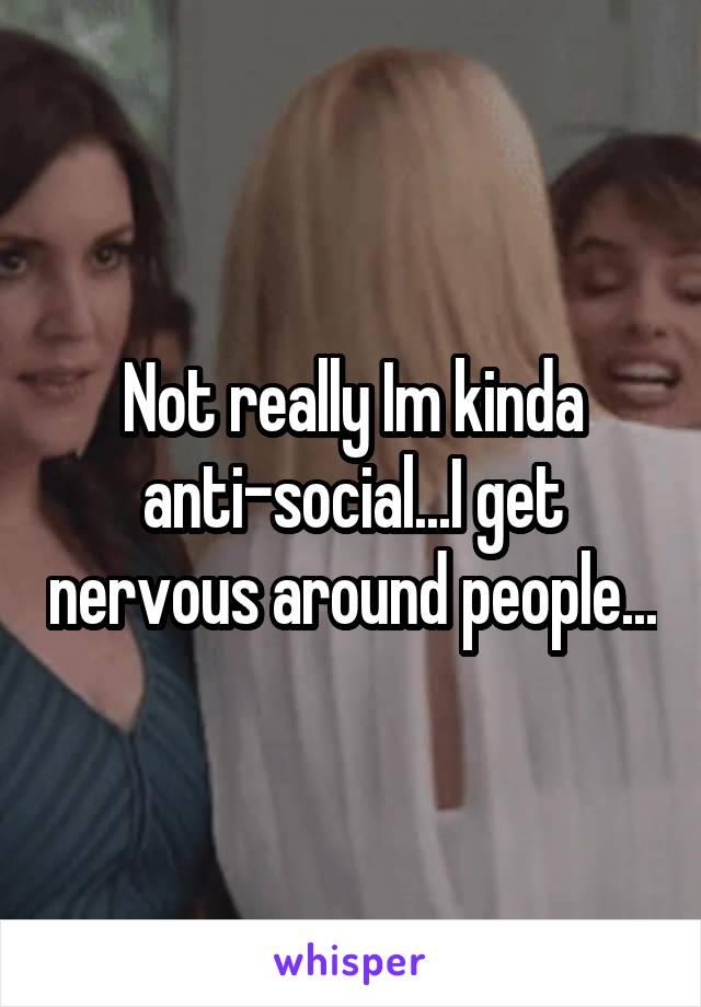 nervous around people
