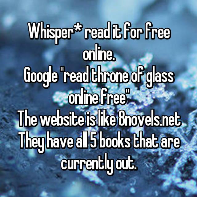Whisper* read it for free online  Google