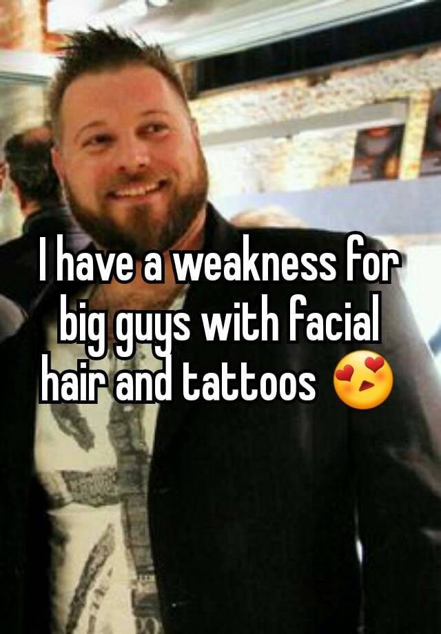 Confirm. facial hair for fat guys