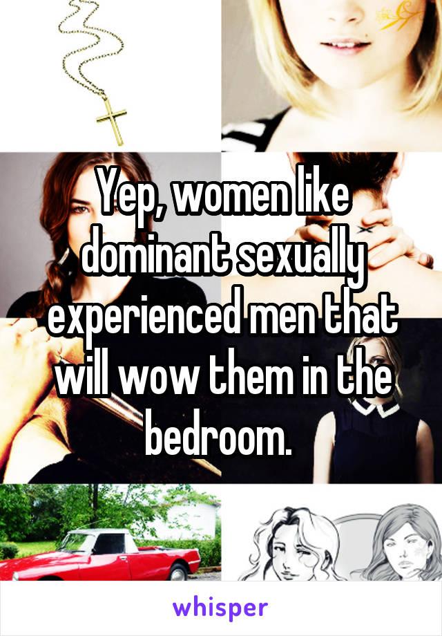 women love dominant men
