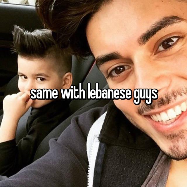 how are lebanese guys