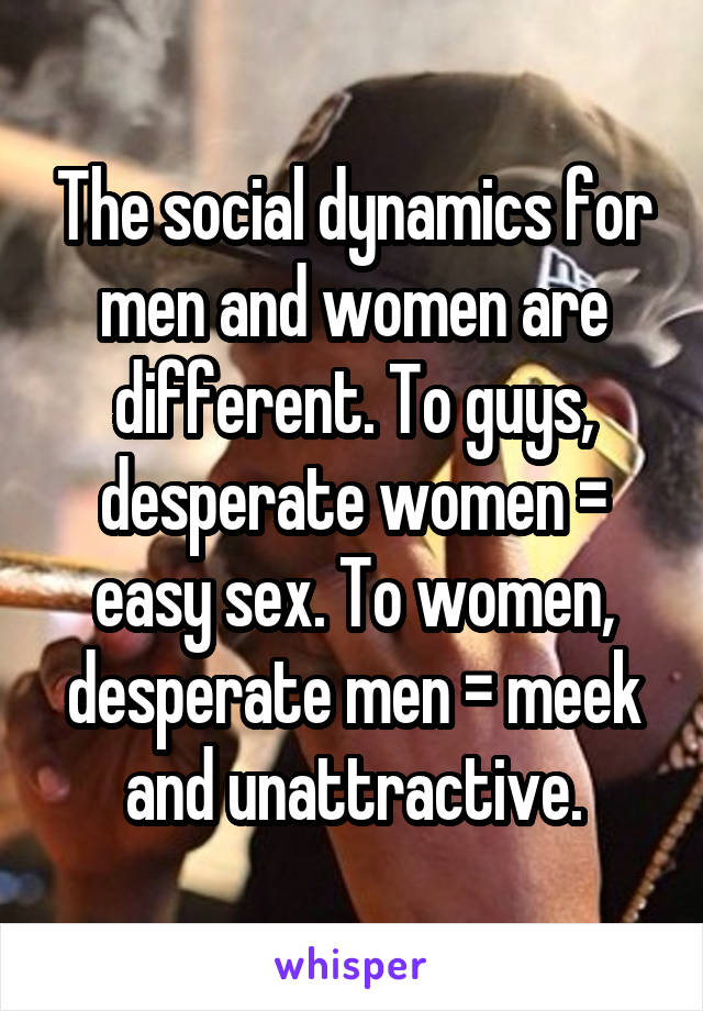 Desperate women