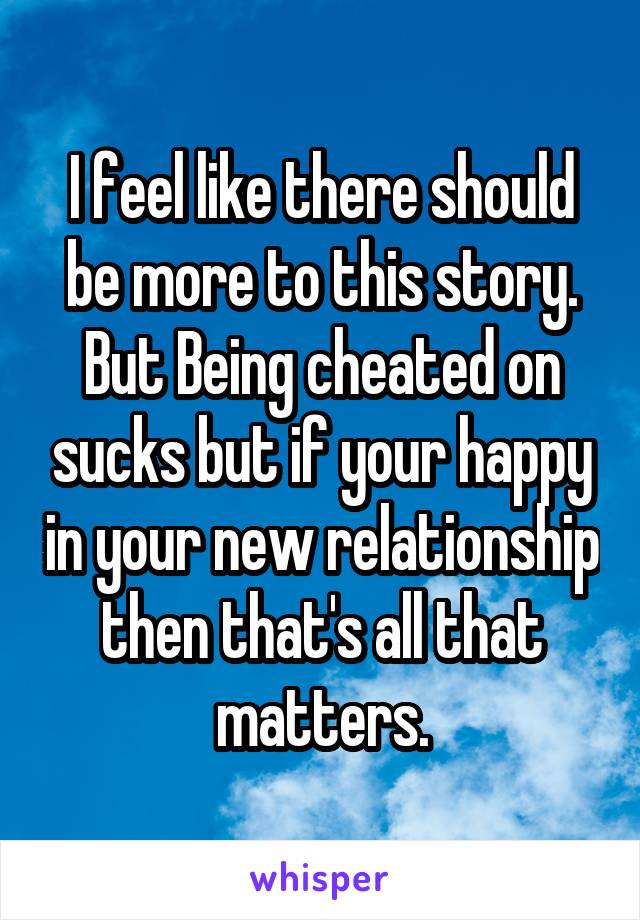 new relationship after being cheated on